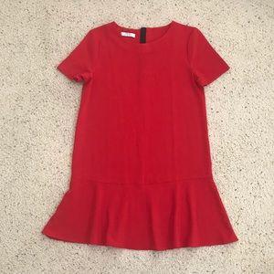 Mango Suit Collection Mini Red Dress Size US 4